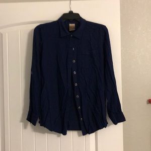Ladies blouse size lg faded glory